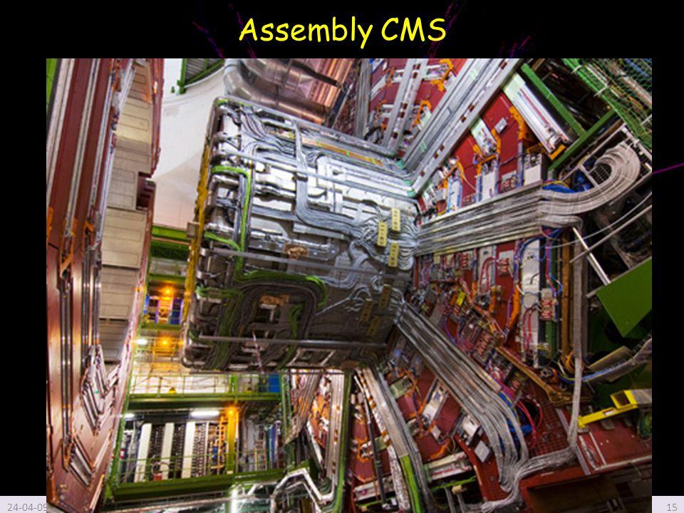 Assembly CMS 24-04-09Global collaboration Hans Hoffmann, CERN honorary15