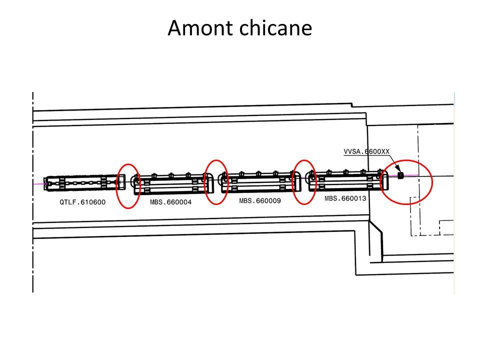 Amont chicane