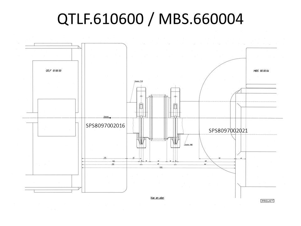 QTLF.610600 / MBS.660004 SPS8097002021 SPS8097002016
