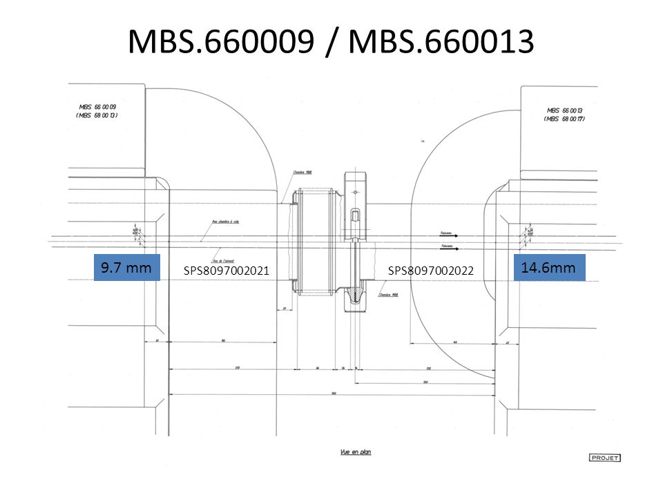 MBS.660009 / MBS.660013 14.6mm9.7 mm SPS8097002021SPS8097002022
