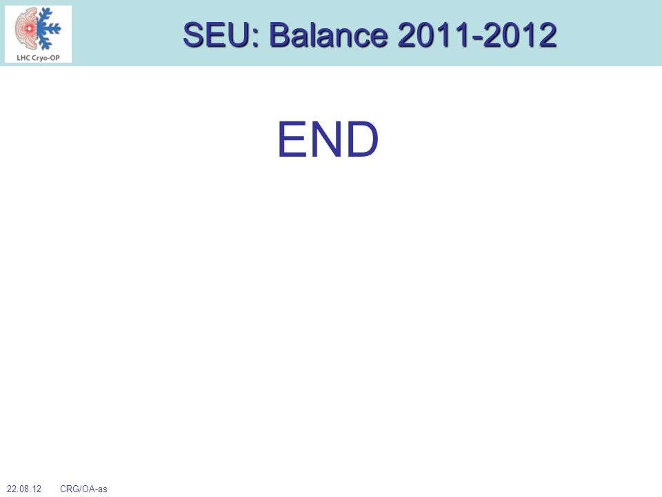 SEU: Balance 2011-2012 END 22.08.12 CRG/OA-as