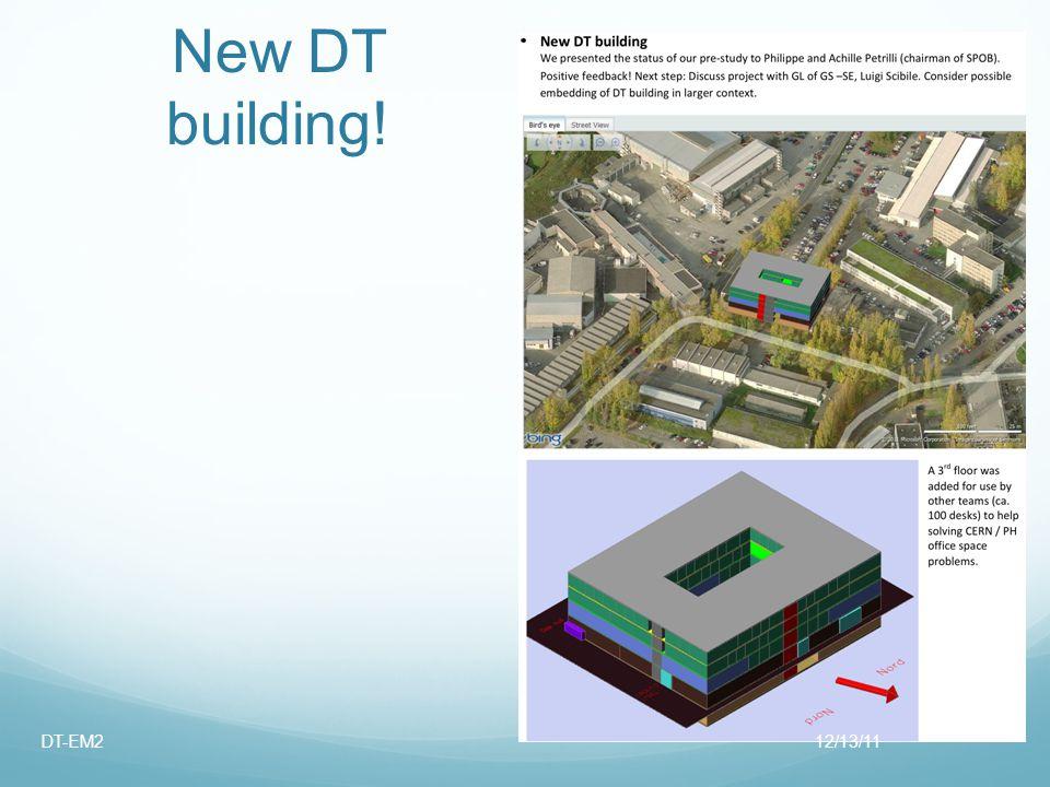 New DT building! 12/13/11DT-EM2