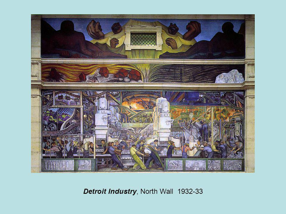 Detroit Industry, North Wall 1932-33