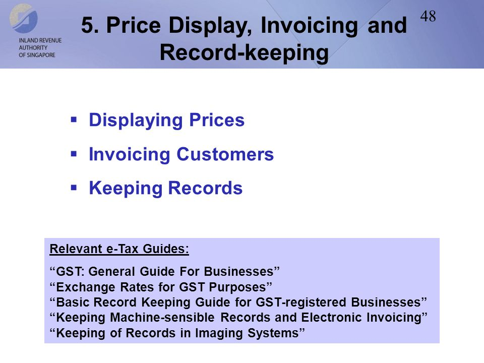 tax invoice and record keeping essentials
