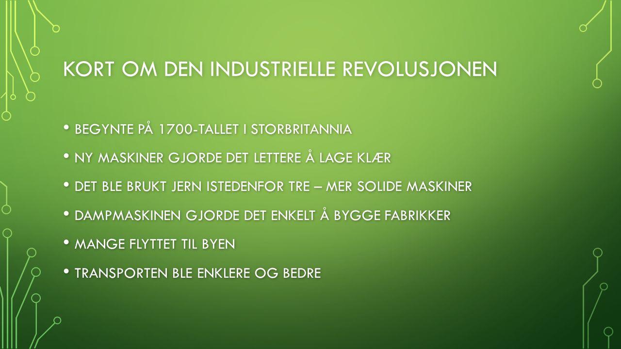 forretningsbanker industrielle revolusjon