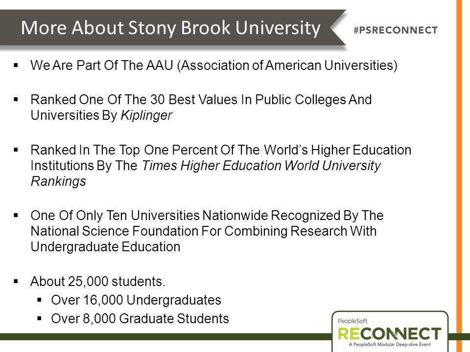 an analysis of stony brook university