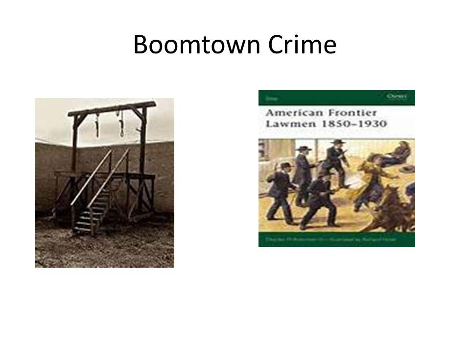 Boomtown Crime