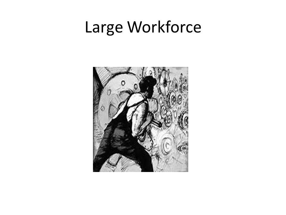 Large Workforce