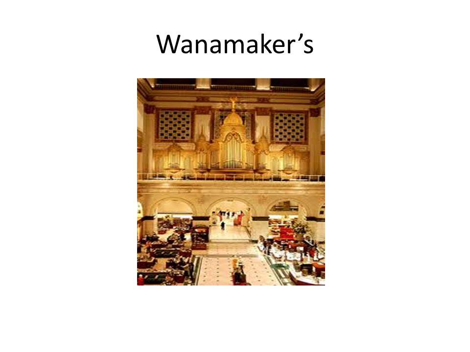 Wanamaker's