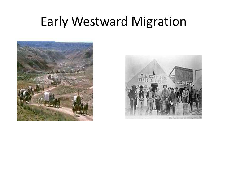 Early Westward Migration