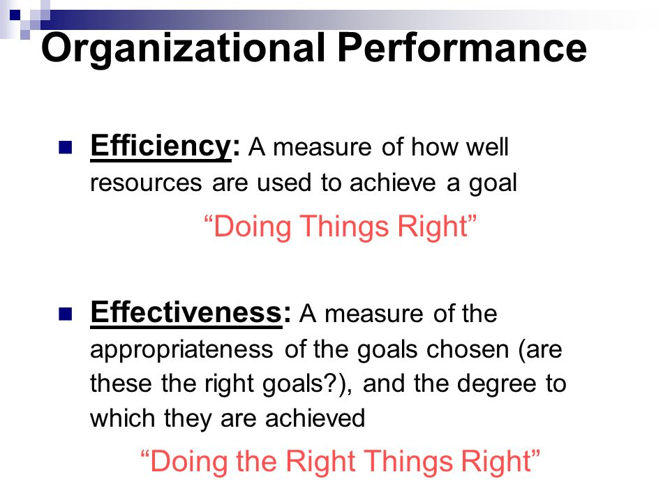 efficiency and effectiveness of an accounting What is the difference between efficiency and effectiveness marketing measures efficiency vs effectiveness definition & explanation i think many would think the meaning of efficiency and effectiveness are similar terms for describing the performance of a business process.