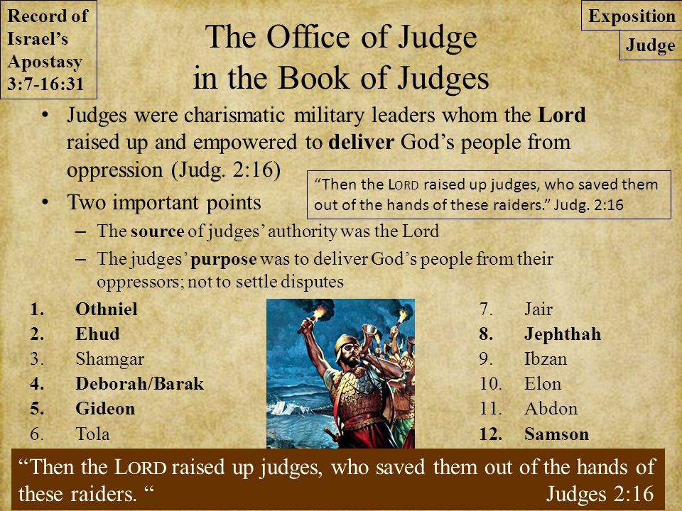 an analysis of good communication in chapter 12 of judges in the bible Matthew 12 niv matthew 12 / bible versions / new therefore it is lawful to do good on the sabbath so then, they will be your judges.