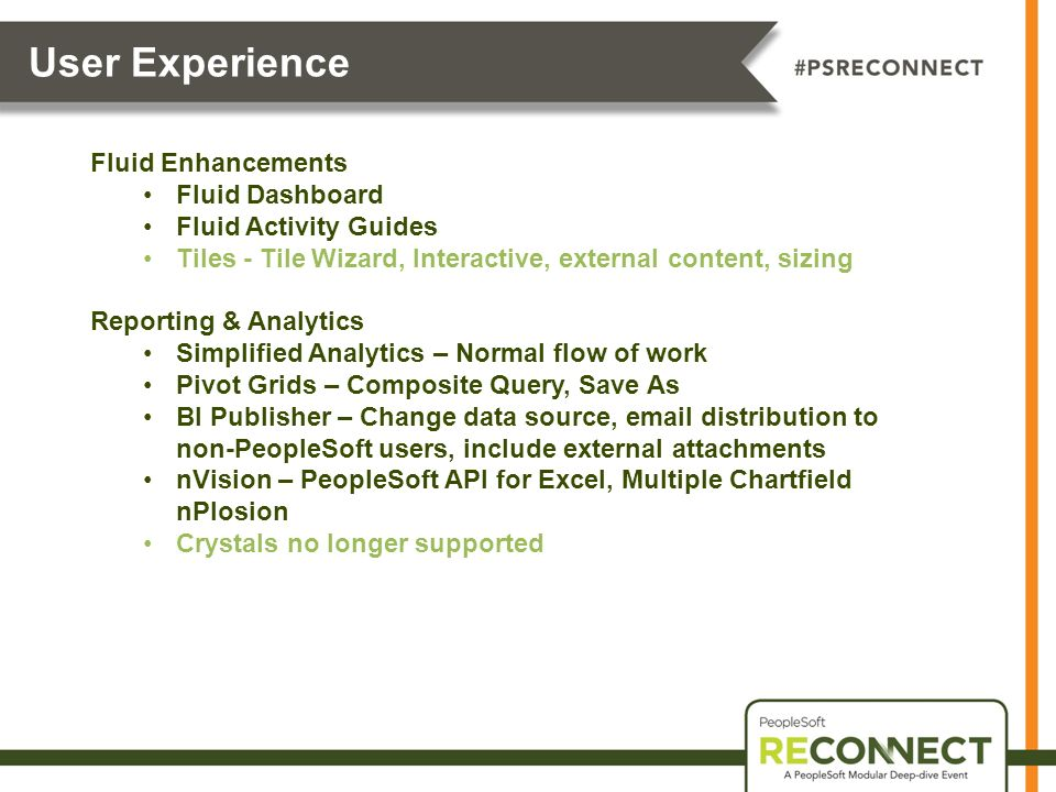 Prepared by Session ID PeopleTools 855 Something for Everyone – Nvision Peoplesoft