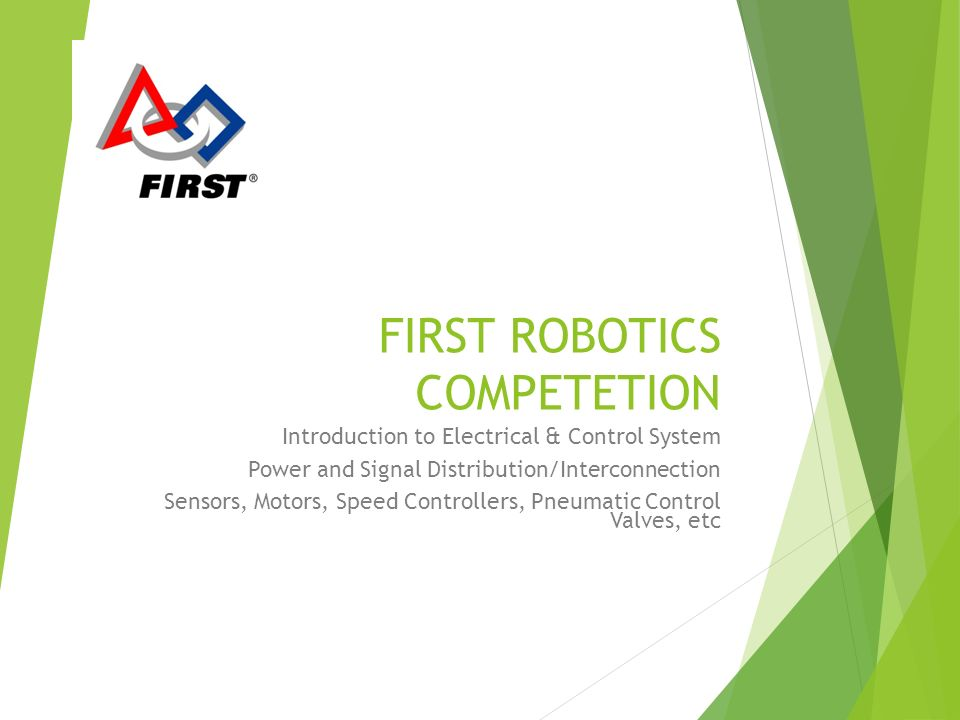 slide_1 first robotics competetion introduction to electrical & control first robotics wiring diagram 2014 at couponss.co