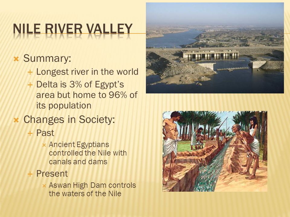 N Africa And SW Asia Summary Longest River In The World - 3 longest rivers in the world
