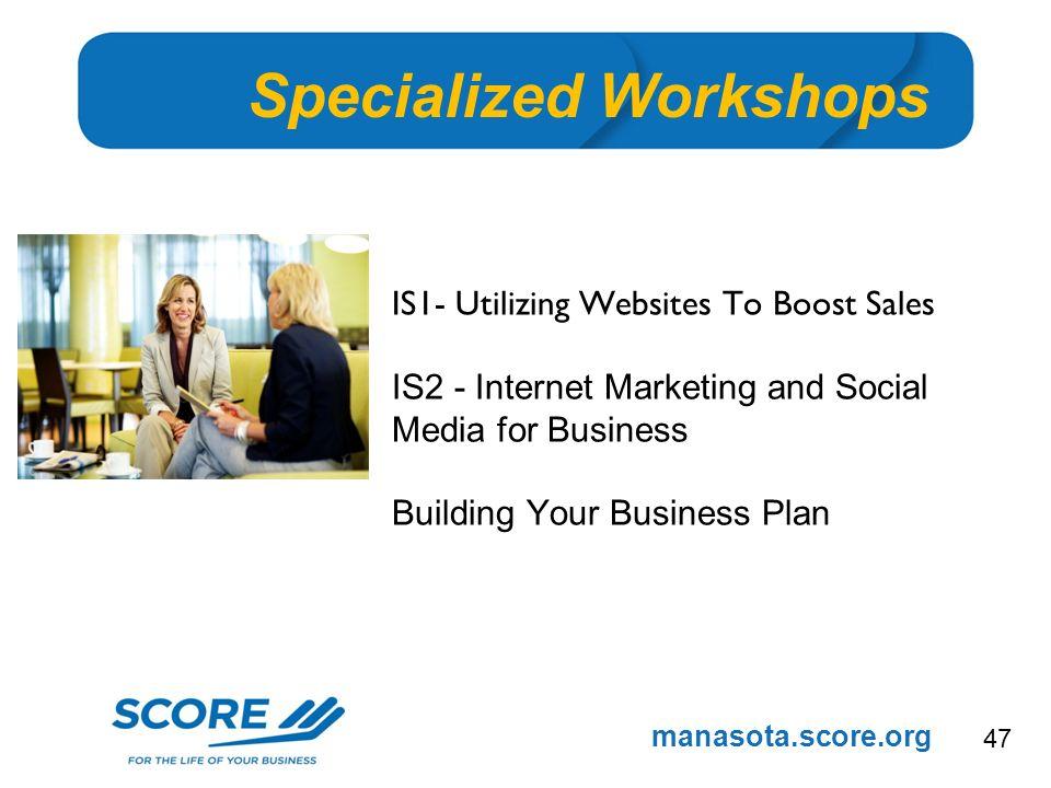 Manasotascoreorg New Member Workshop Overview Simple Steps For - Scoreorg business plan template