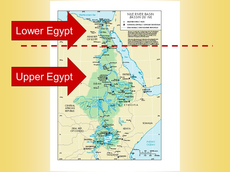 Egypt Origins Around BC Villages Began To Show Up Along - Map of egypt 3000 bc
