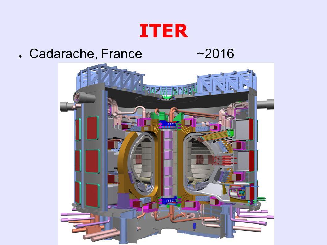 ITER ● Cadarache, France ~2016