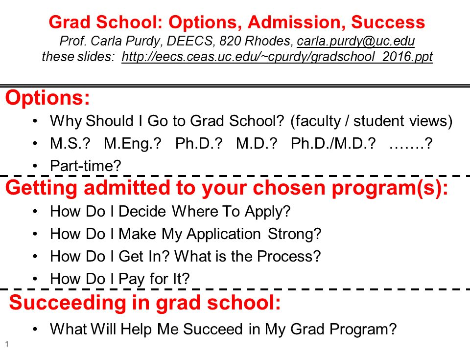 where should i go to grad school