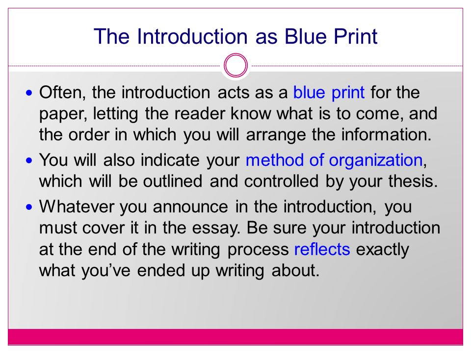 intro to thesis writing Honours thesis writing thesis structure introductions what types of information should you include in your introduction in the introduction of your thesis, you.