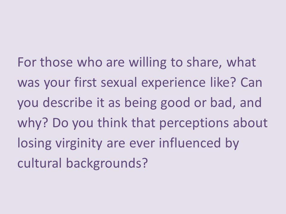 Cultural views on virginity