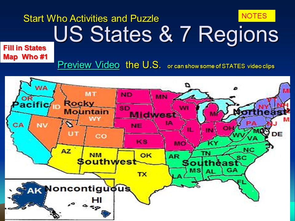 Usii1g geography geography is the study of the earth and the 4 us states 7 regions preview video the sciox Image collections