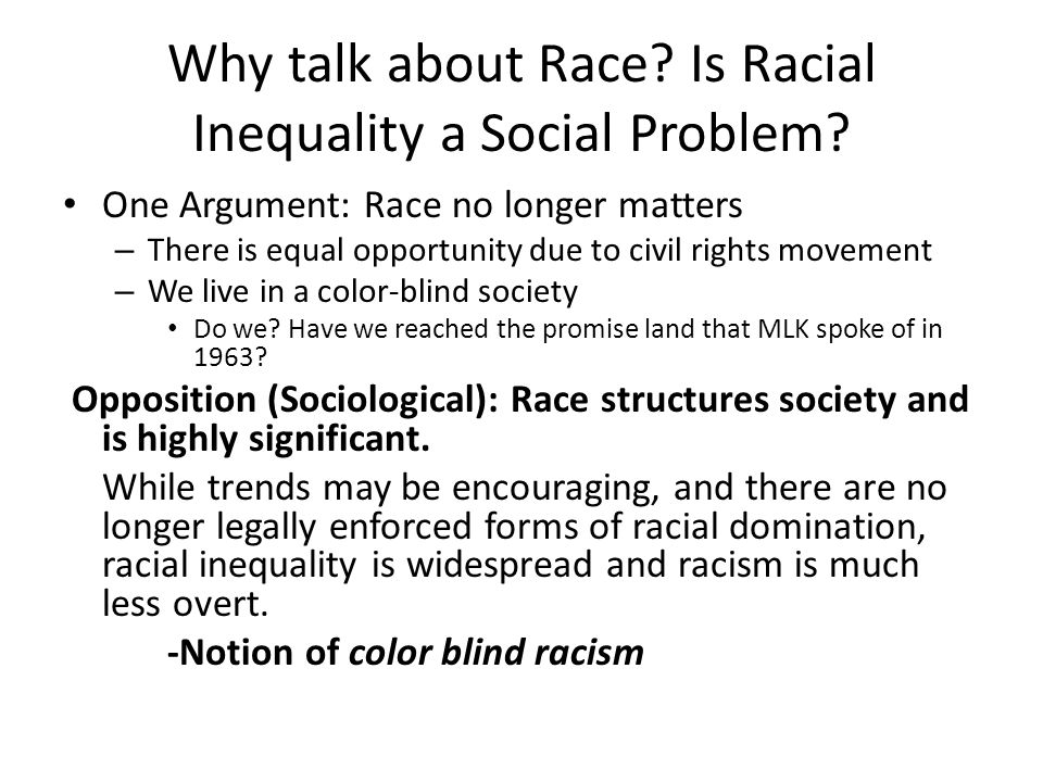 an assessment of racial discrimination in the media The human rights process and race discrimination complaints surfacing racism in the workplace: qualitative and quantitative evidence of systemic discrimination.