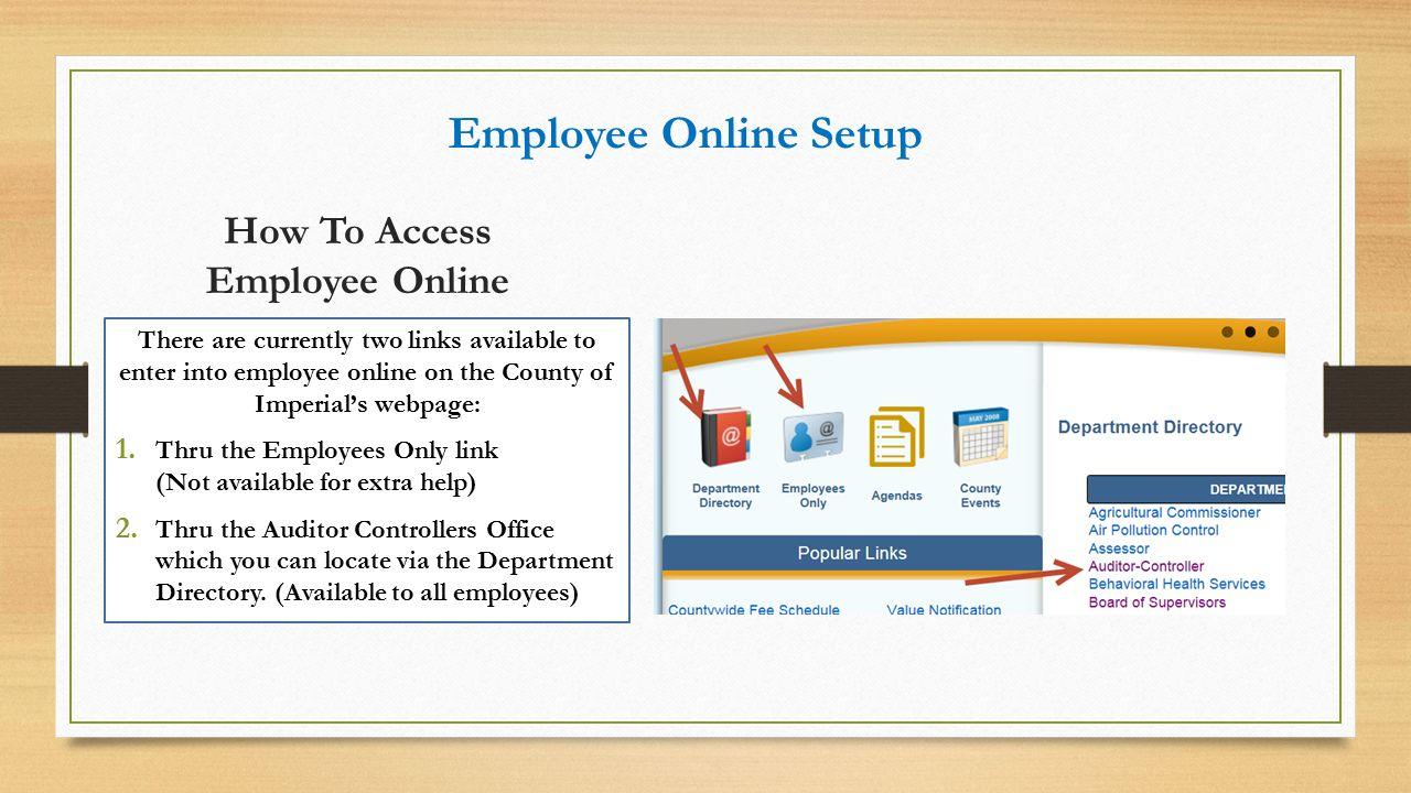 essay on employee access