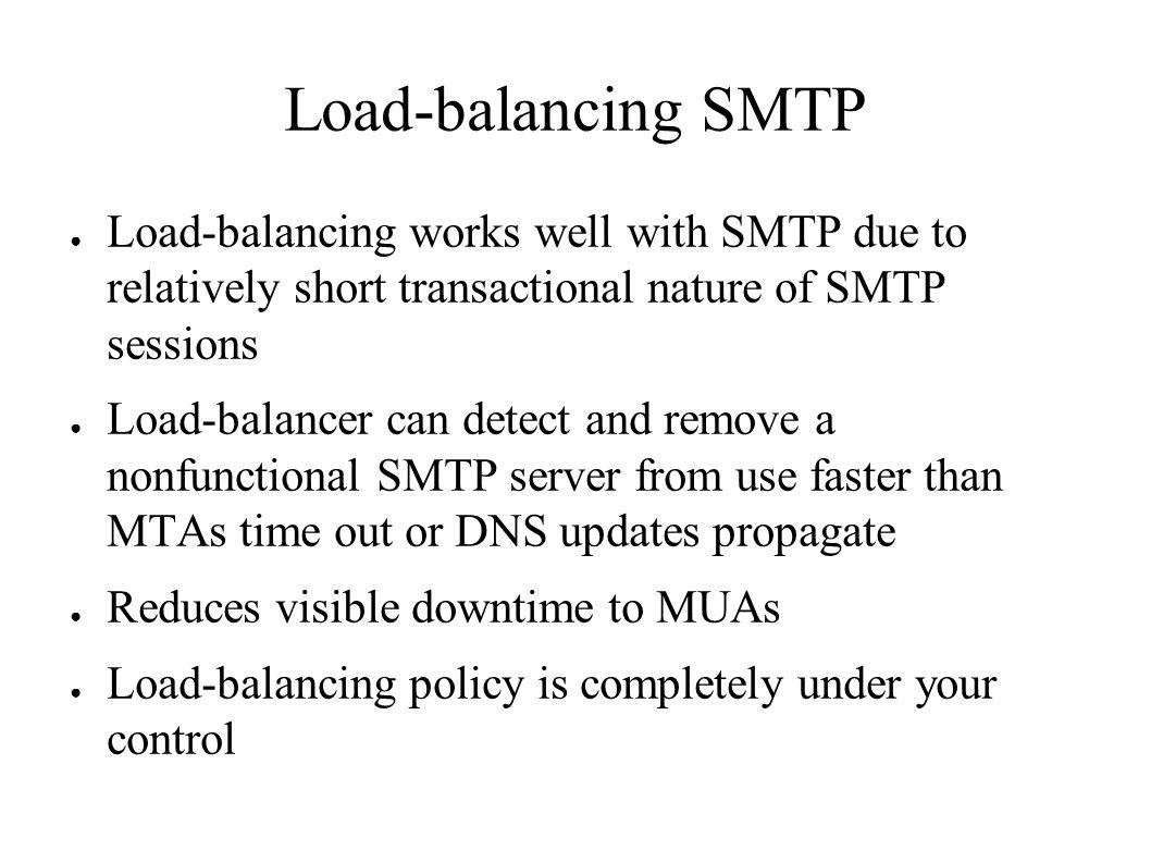 High capacity systems steve vandevender university of oregon ppt 67 load balancing smtp kristyandbryce Images