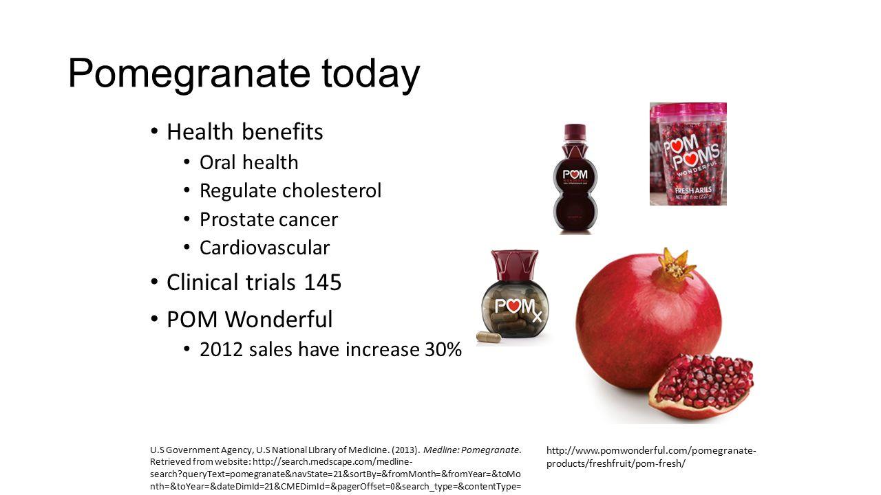 pom wonderful benefits for health