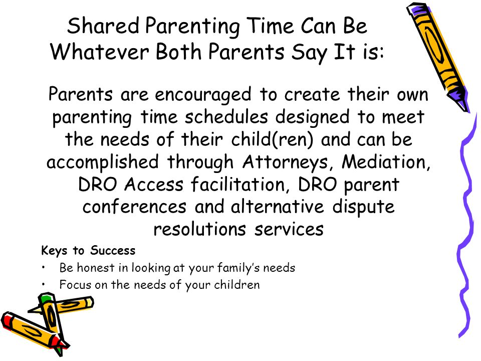 Court order orientation shared parenting program el paso county 5 shared solutioingenieria Images