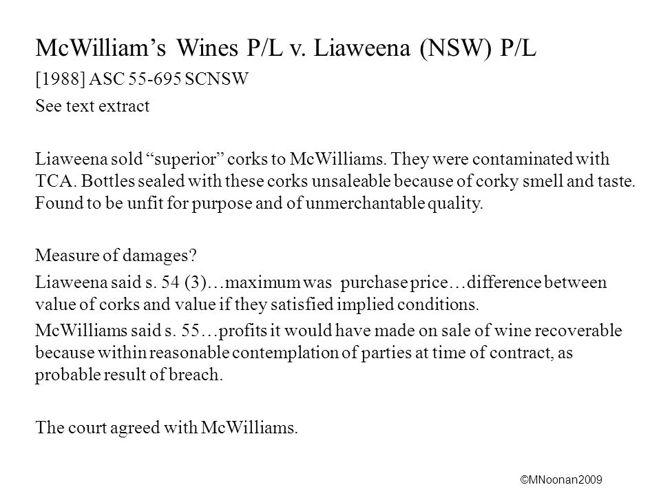 ©MNoonan2009 McWilliam's Wines P/L v.