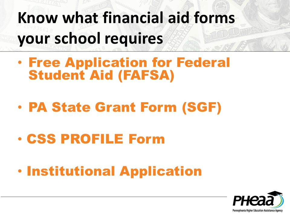 Financial Aid Education 101 Paying for Higher. Please silence your ...