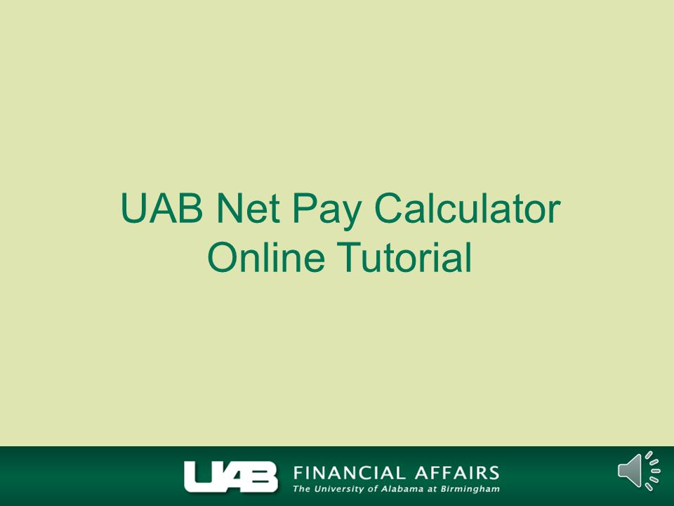 Net Pay Calculator