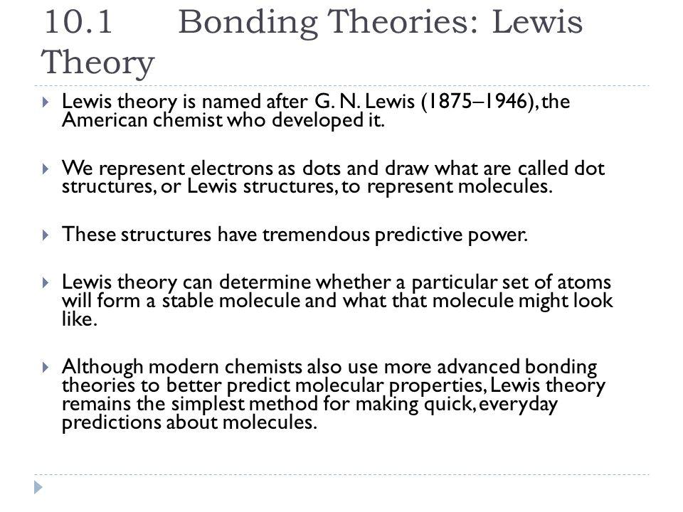 Chapter 10 Chemical Bonding. © 2012 Pearson Education, Inc. 10.1 ...