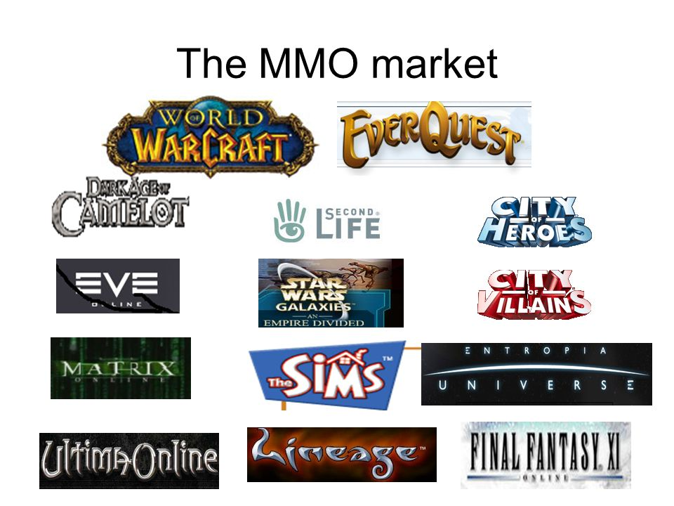 The MMO market