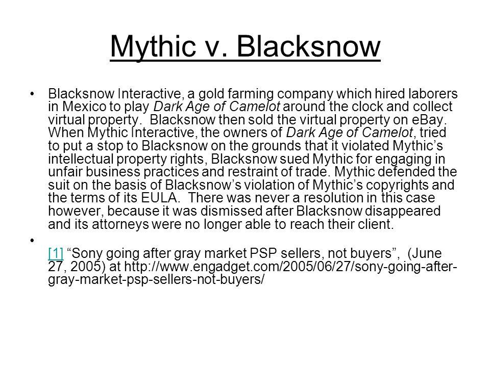 Mythic v.