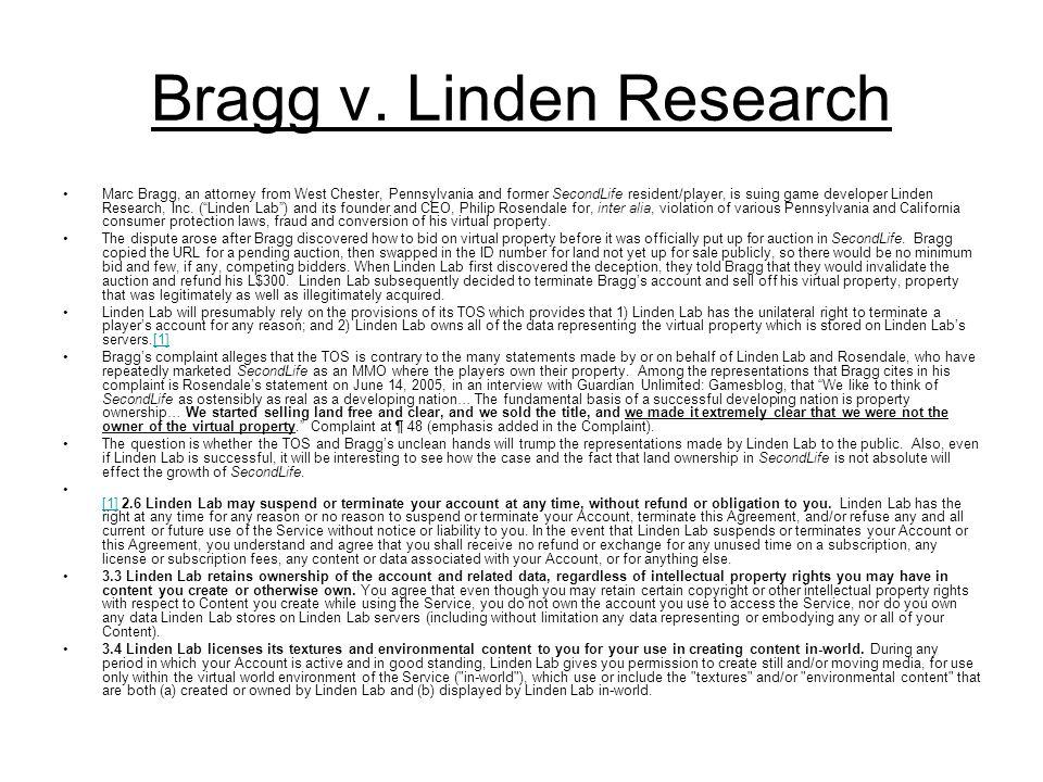 Bragg v.