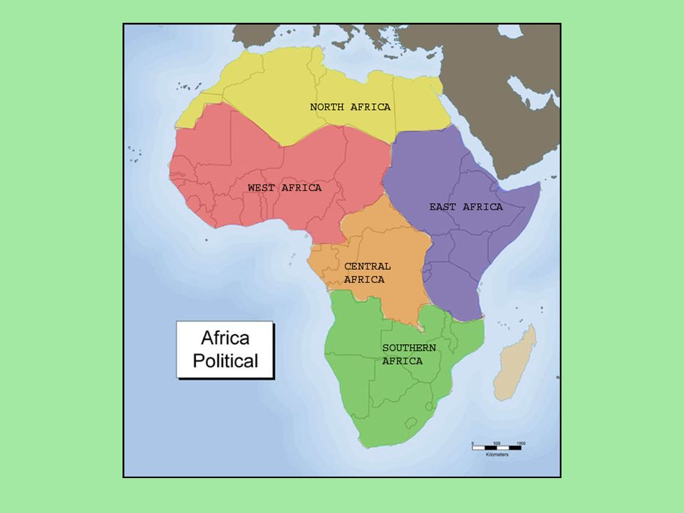 A Closer Look at Africa 50 Countries The Plateau Continent