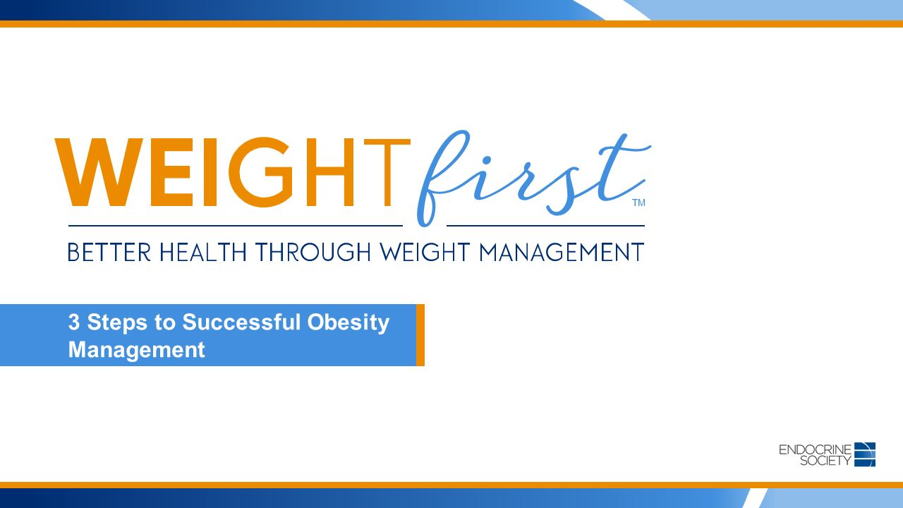 3 Steps to Successful Obesity Management