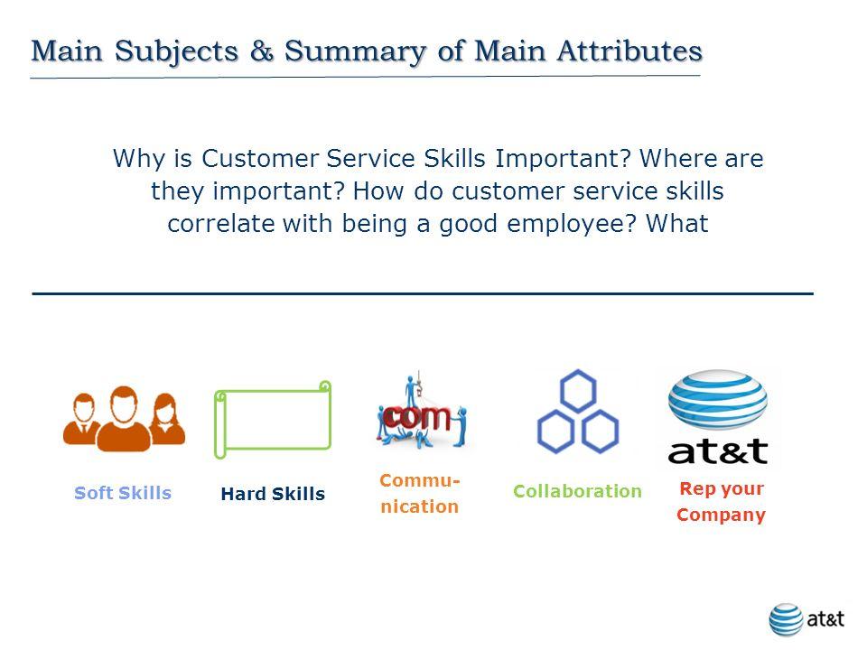 customer service hard skills
