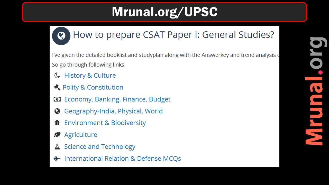 Mrunal.org/UPSC