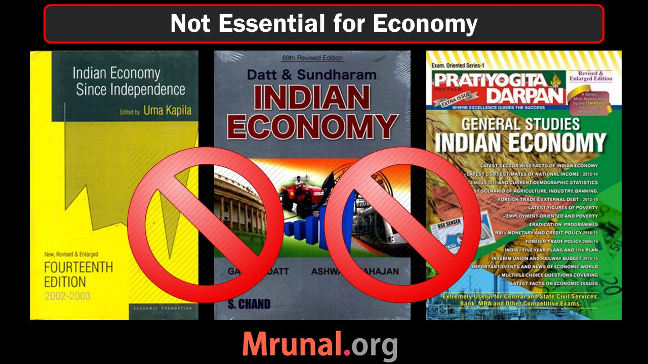 Not Essential for Economy
