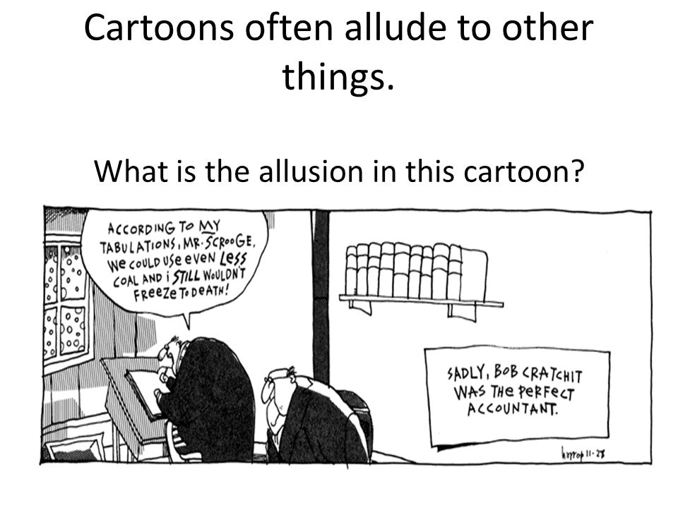 Allusion Is An Example Of Figurative Language Allusion Is A Brief