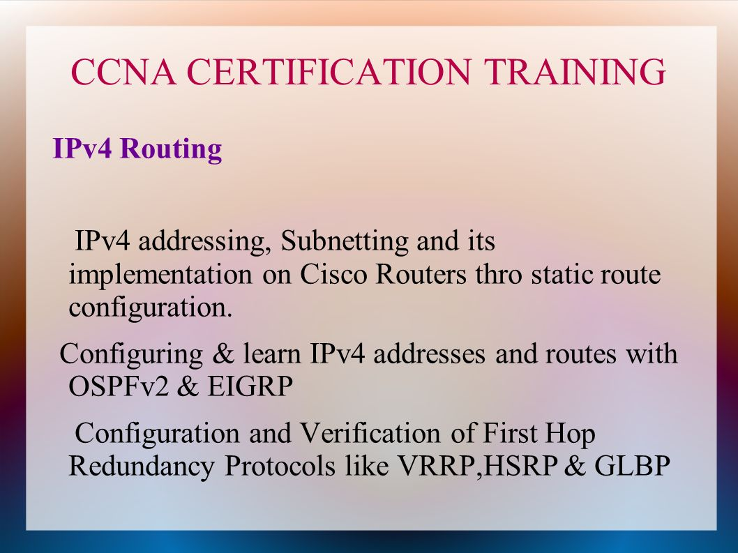 Ccna certification training specto ccna certification training 5 ccna certification xflitez Gallery