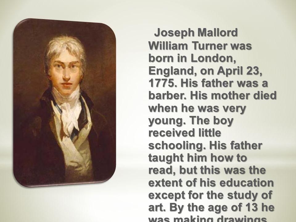 william turner father
