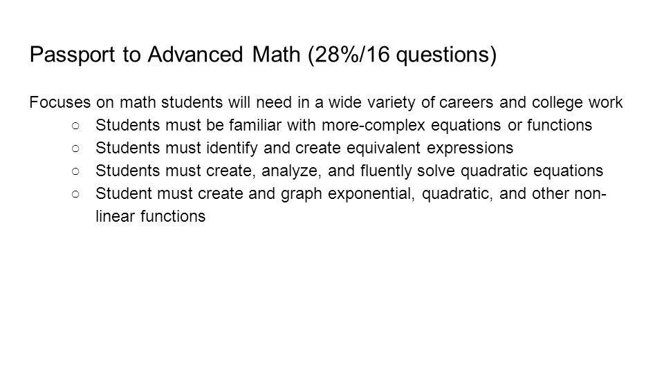 New SAT Math Test Jason Henderson Triad CUSD #2 - ppt download