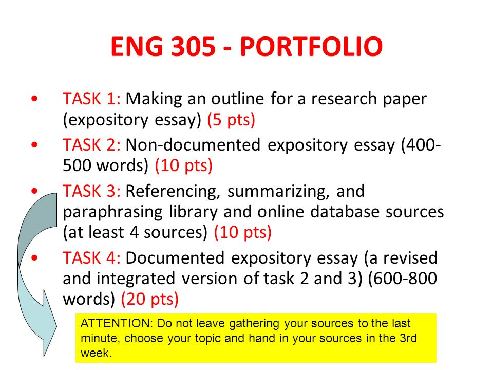 Academic Writing Skills Eng 305 Advanced Academic Writing. - Ppt