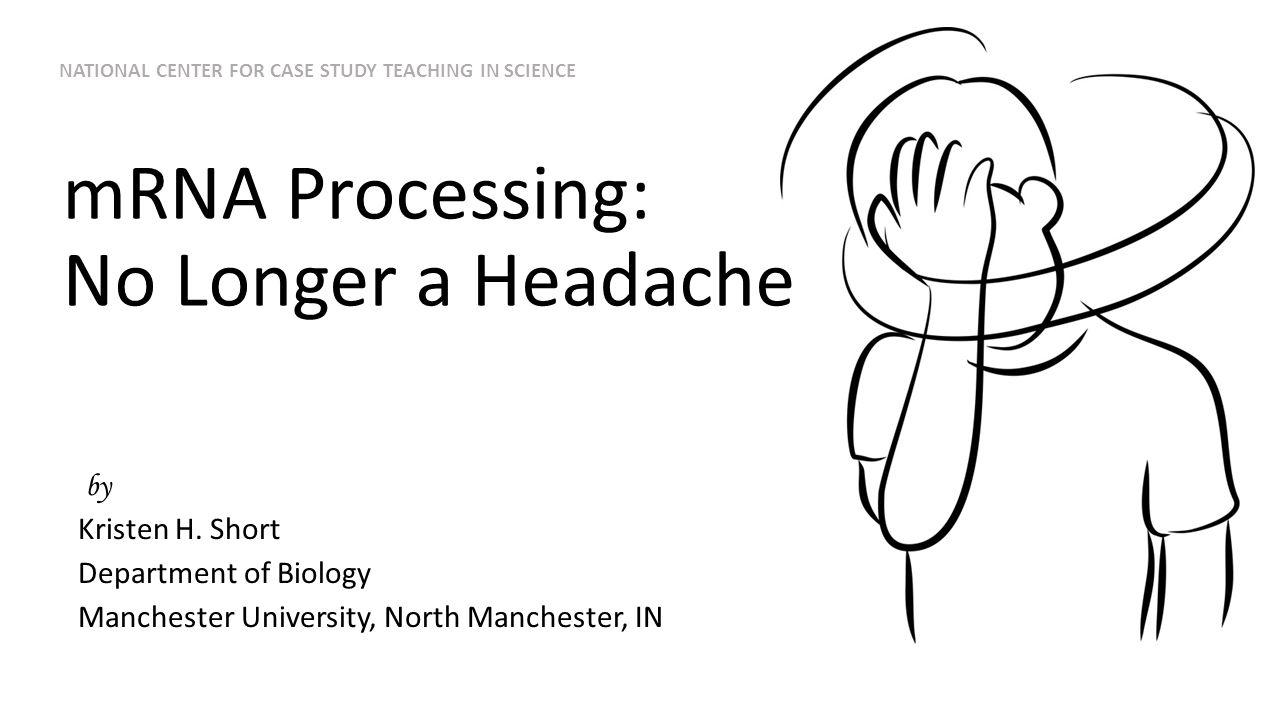mRNA Processing: No Longer a Headache by Kristen H.