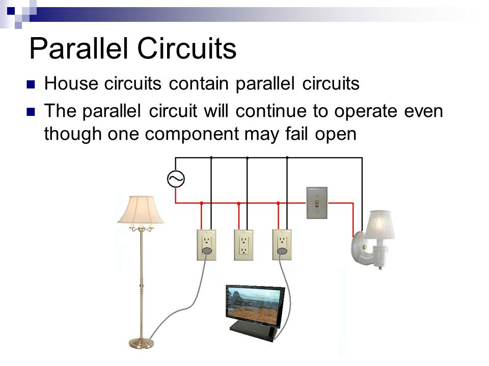 Parallel Circuits In House - Schematic Wiring Diagram •